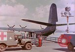 Image of US Aircraft JRM-1 removing casualties and taking off Pearl Harbor Hawaii USA, 1946, second 25 stock footage video 65675022271