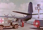 Image of US Aircraft JRM-1 removing casualties and taking off Pearl Harbor Hawaii USA, 1946, second 26 stock footage video 65675022271