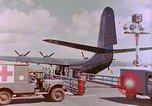 Image of US Aircraft JRM-1 removing casualties and taking off Pearl Harbor Hawaii USA, 1946, second 27 stock footage video 65675022271