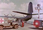 Image of US Aircraft JRM-1 removing casualties and taking off Pearl Harbor Hawaii USA, 1946, second 28 stock footage video 65675022271