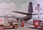 Image of US Aircraft JRM-1 removing casualties and taking off Pearl Harbor Hawaii USA, 1946, second 30 stock footage video 65675022271