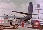 Image of US Aircraft JRM-1 removing casualties and taking off Pearl Harbor Hawaii USA, 1946, second 31 stock footage video 65675022271