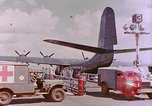 Image of US Aircraft JRM-1 removing casualties and taking off Pearl Harbor Hawaii USA, 1946, second 32 stock footage video 65675022271