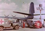 Image of US Aircraft JRM-1 removing casualties and taking off Pearl Harbor Hawaii USA, 1946, second 33 stock footage video 65675022271