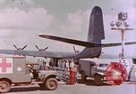 Image of US Aircraft JRM-1 removing casualties and taking off Pearl Harbor Hawaii USA, 1946, second 34 stock footage video 65675022271