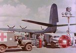 Image of US Aircraft JRM-1 removing casualties and taking off Pearl Harbor Hawaii USA, 1946, second 35 stock footage video 65675022271