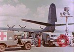Image of US Aircraft JRM-1 removing casualties and taking off Pearl Harbor Hawaii USA, 1946, second 36 stock footage video 65675022271