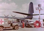Image of US Aircraft JRM-1 removing casualties and taking off Pearl Harbor Hawaii USA, 1946, second 37 stock footage video 65675022271