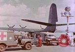 Image of US Aircraft JRM-1 removing casualties and taking off Pearl Harbor Hawaii USA, 1946, second 38 stock footage video 65675022271