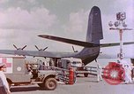 Image of US Aircraft JRM-1 removing casualties and taking off Pearl Harbor Hawaii USA, 1946, second 42 stock footage video 65675022271