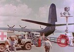 Image of US Aircraft JRM-1 removing casualties and taking off Pearl Harbor Hawaii USA, 1946, second 45 stock footage video 65675022271