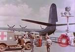 Image of US Aircraft JRM-1 removing casualties and taking off Pearl Harbor Hawaii USA, 1946, second 46 stock footage video 65675022271