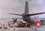 Image of US Aircraft JRM-1 removing casualties and taking off Pearl Harbor Hawaii USA, 1946, second 48 stock footage video 65675022271