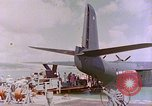 Image of US Aircraft JRM-1 removing casualties and taking off Pearl Harbor Hawaii USA, 1946, second 51 stock footage video 65675022271