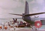 Image of US Aircraft JRM-1 removing casualties and taking off Pearl Harbor Hawaii USA, 1946, second 52 stock footage video 65675022271