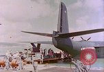 Image of US Aircraft JRM-1 removing casualties and taking off Pearl Harbor Hawaii USA, 1946, second 53 stock footage video 65675022271