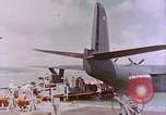 Image of US Aircraft JRM-1 removing casualties and taking off Pearl Harbor Hawaii USA, 1946, second 55 stock footage video 65675022271