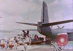Image of US Aircraft JRM-1 removing casualties and taking off Pearl Harbor Hawaii USA, 1946, second 57 stock footage video 65675022271