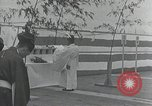 Image of Commisioning ceremony of Japanese aircraft carrier Hiryu Yokosuka Japan, 1940, second 33 stock footage video 65675022299