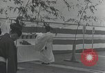 Image of Commisioning ceremony of Japanese aircraft carrier Hiryu Yokosuka Japan, 1940, second 35 stock footage video 65675022299