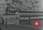 Image of Commisioning ceremony of Japanese aircraft carrier Hiryu Yokosuka Japan, 1940, second 58 stock footage video 65675022299