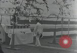 Image of Commisioning ceremony of Japanese aircraft carrier Hiryu Yokosuka Japan, 1940, second 62 stock footage video 65675022299