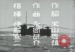 Image of Japanese Navy sailors especially submarine in training during World Wa Japan, 1942, second 16 stock footage video 65675022305