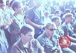 Image of USO show in Vietnam Vietnam, 1972, second 33 stock footage video 65675022319