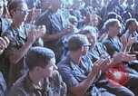 Image of USO show in Vietnam Vietnam, 1972, second 36 stock footage video 65675022319
