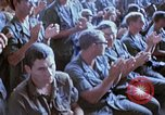 Image of USO show in Vietnam Vietnam, 1972, second 37 stock footage video 65675022319