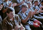 Image of USO show in Vietnam Vietnam, 1972, second 38 stock footage video 65675022319