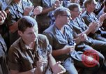 Image of USO show in Vietnam Vietnam, 1972, second 39 stock footage video 65675022319