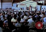 Image of USO show in Vietnam Vietnam, 1972, second 52 stock footage video 65675022319