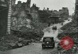 Image of bombed Le Portel France Le Portel France, 1943, second 52 stock footage video 65675022346
