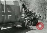 Image of military salvage operations Europe, 1947, second 10 stock footage video 65675022353