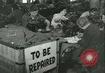 Image of GI's clothing salvaged Reims France, 1947, second 4 stock footage video 65675022354