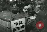 Image of GI's clothing salvaged Reims France, 1947, second 5 stock footage video 65675022354