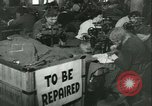 Image of GI's clothing salvaged Reims France, 1947, second 7 stock footage video 65675022354