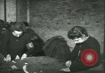 Image of GI's clothing salvaged Reims France, 1947, second 36 stock footage video 65675022354