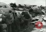Image of Reclaiming salvaged materials United States USA, 1947, second 4 stock footage video 65675022357
