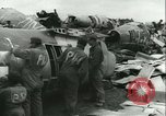 Image of Reclaiming salvaged materials United States USA, 1947, second 5 stock footage video 65675022357