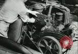 Image of Reclaiming salvaged materials United States USA, 1947, second 33 stock footage video 65675022357