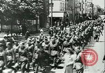 Image of Legion of French Volunteer LVF soldiers collaborating with Germany Versailles France, 1941, second 11 stock footage video 65675022362