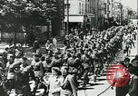 Image of Legion of French Volunteer LVF soldiers collaborating with Germany Versailles France, 1941, second 12 stock footage video 65675022362