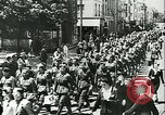 Image of Legion of French Volunteer LVF soldiers collaborating with Germany Versailles France, 1941, second 13 stock footage video 65675022362