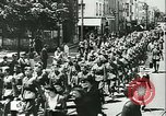 Image of Legion of French Volunteer LVF soldiers collaborating with Germany Versailles France, 1941, second 14 stock footage video 65675022362