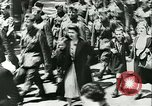 Image of Legion of French Volunteer LVF soldiers collaborating with Germany Versailles France, 1941, second 15 stock footage video 65675022362
