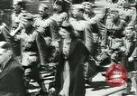 Image of Legion of French Volunteer LVF soldiers collaborating with Germany Versailles France, 1941, second 16 stock footage video 65675022362