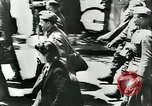Image of Legion of French Volunteer LVF soldiers collaborating with Germany Versailles France, 1941, second 19 stock footage video 65675022362