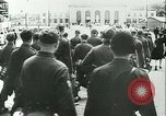 Image of Legion of French Volunteer LVF soldiers collaborating with Germany Versailles France, 1941, second 22 stock footage video 65675022362